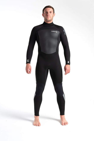 C Skins Legend 4/3 Back Zip Wetsuit Black - Second Skin Surfshop