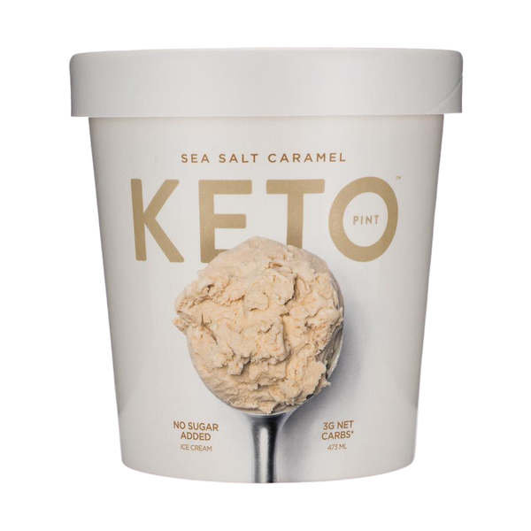 Ice Cream Keto Sea Salt Caramel 473ml