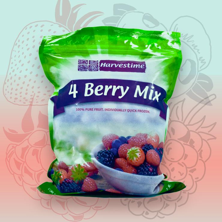 Frozen 4 Berry Mix