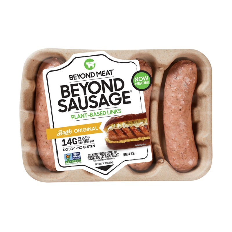 Plant-Based Sausage Brat Original 4pcs