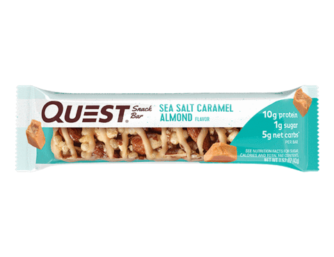 Nut Bar Sea Salt Caramel Almond 43g