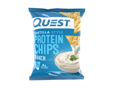 Chips Protein Ranch Tortilla Style 32g