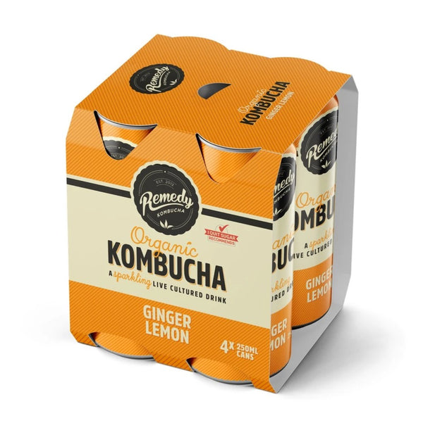 Drink Kombucha Ginger Lemon 250ml