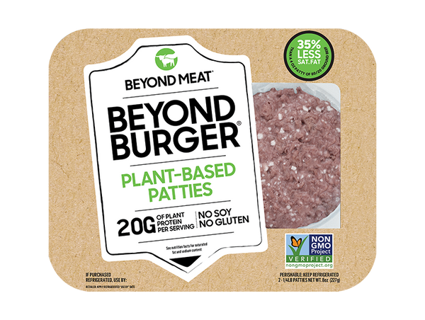 Plant-Based Burger Patties 4oz 2 pcs