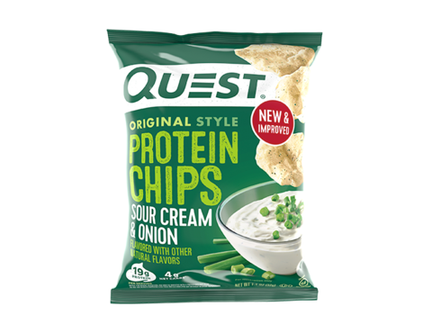 Chips Protein Sour Cream & Onion Original Style 32g