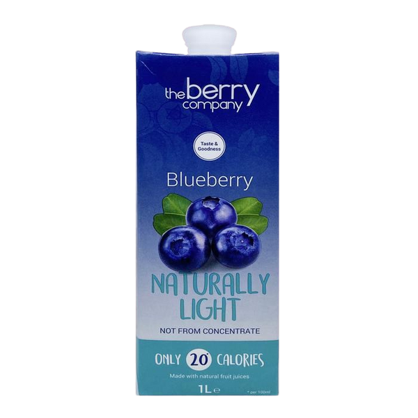Drink Naturally Blueberry Light 1L