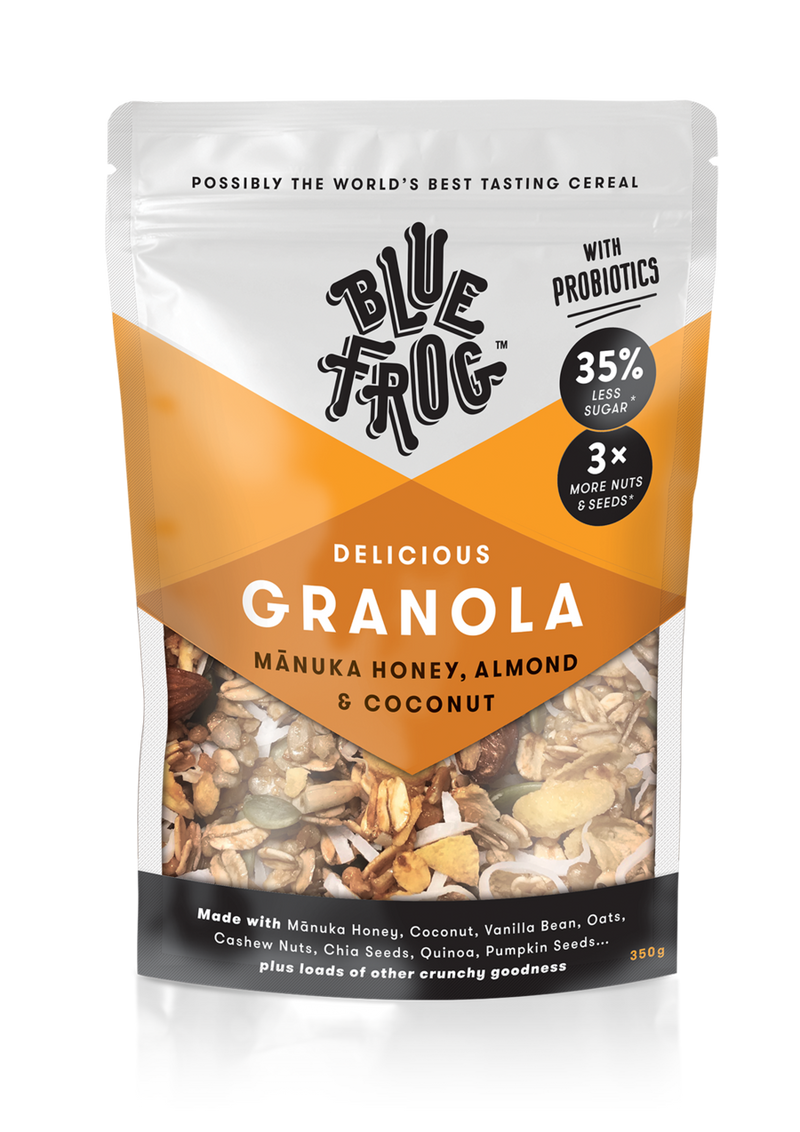 Granola Manuka Honey, Almond & Coconut  350g
