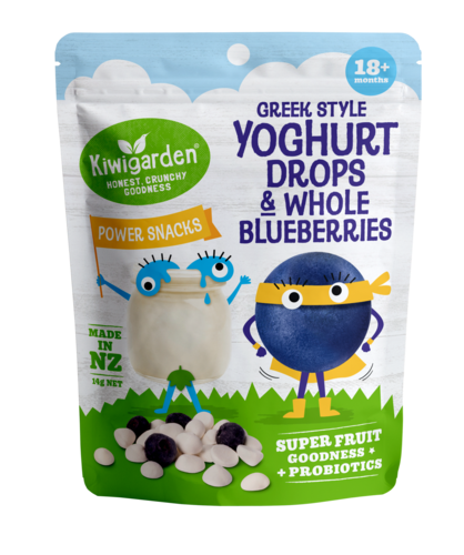 Greek Style Yoghurt Drops & Whole Blueberries