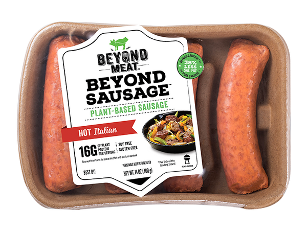 Plant-Based Sausage Hot Italian 400g 4 pcs