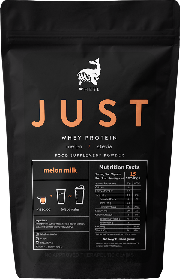 JUST Melon Milk Whey Protein 1lb