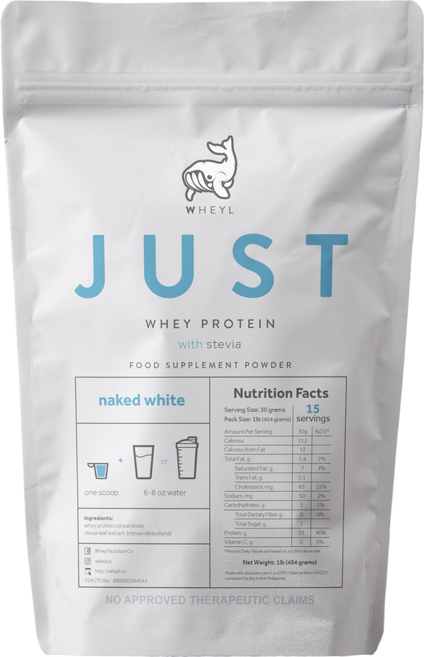 JUST Naked White Whey Protein 1lb