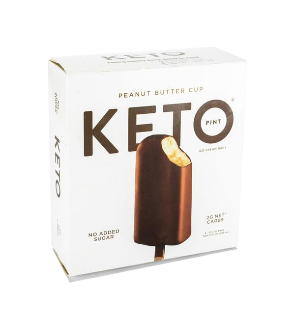 Ice Cream Bar Peanut Butter Cup Keto Sold Per Piece
