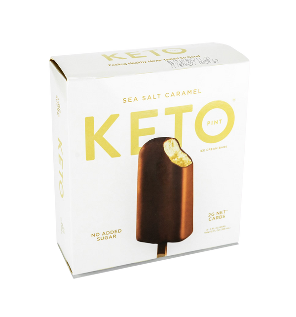 Ice Cream Bar Keto Sea Salt Caramel Sold Per Piece