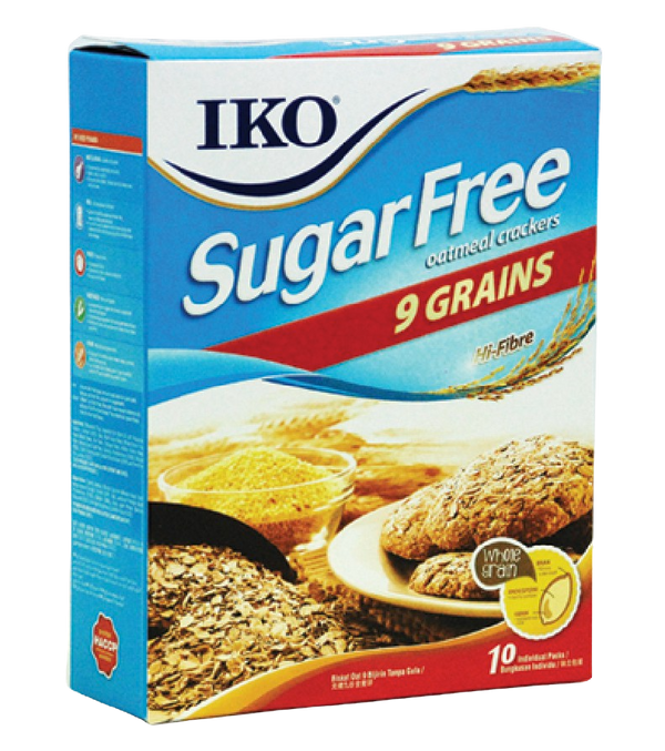 Cracker Oat Sugar Free 9 Grains 220g