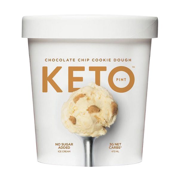 Ice Cream Keto Chocolate Chip Cookie Dough 473ml