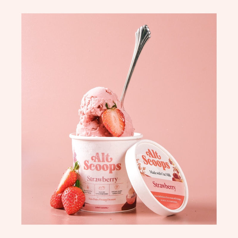 Ice Cream Oat Strawberry