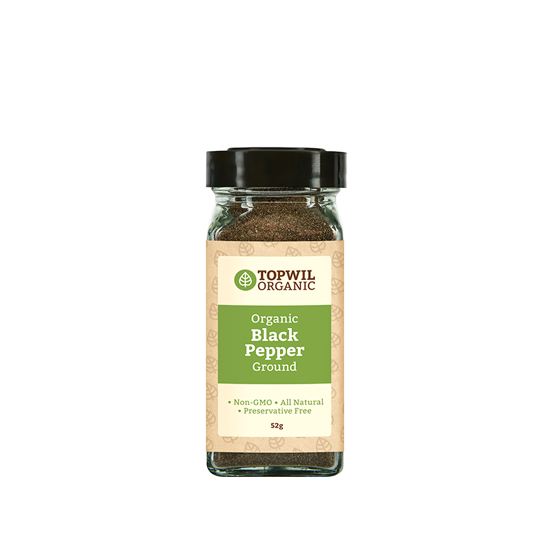 Organic Black Pepper Ground 60g