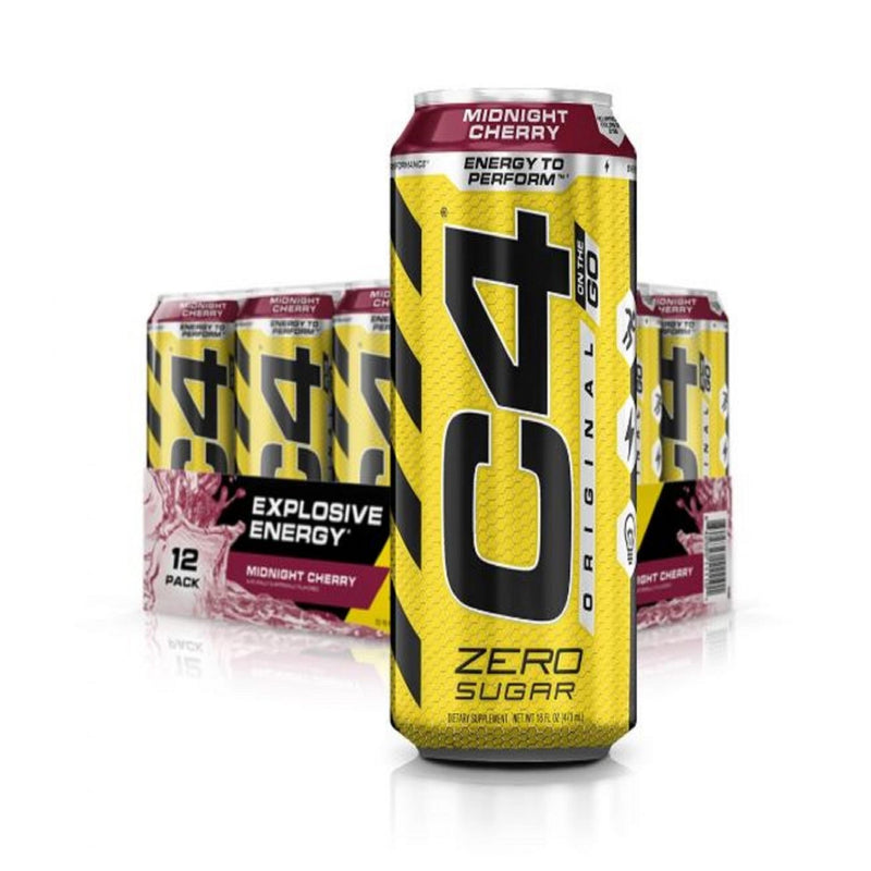 Drink Energy Zero Sugar Midnight Cherry