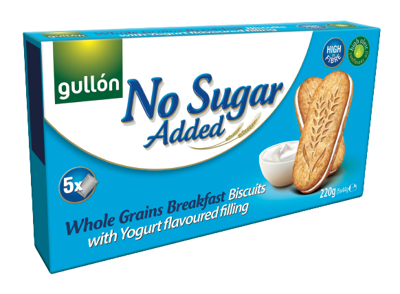 No Sugar Added Whole Grains Biscuits With Yogurt Filling
