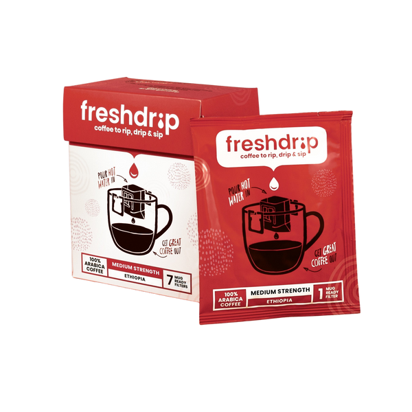 Freshdrip Ethiopia Medium-Strength (7 packs)
