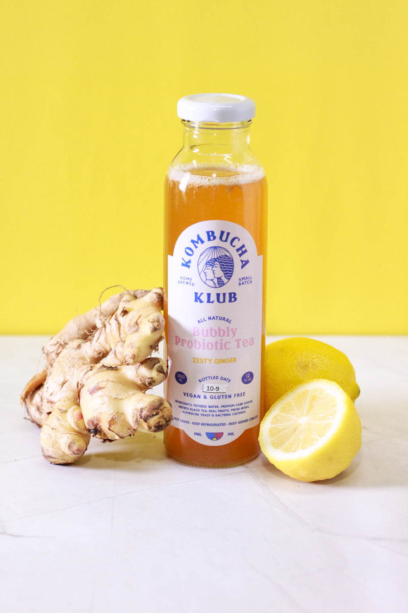 Drink Kombucha Klub Zesty Ginger 350ml