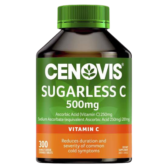 Sugarless Vitamin C 300 Tablets