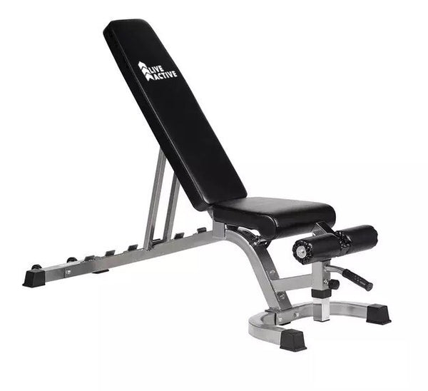 LA Heavy Equipment Adjustable Bench