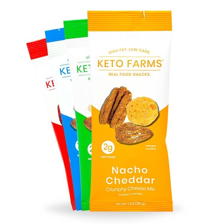 Keto Crunchy Cheese Mix 4 in 1