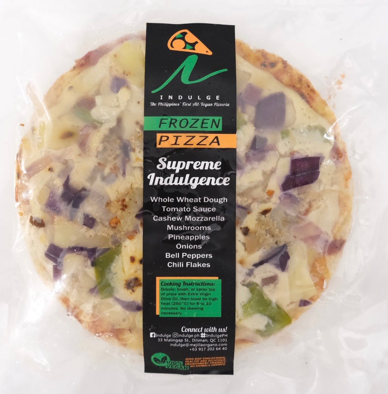 Pizza Vegan Supreme Indulgence