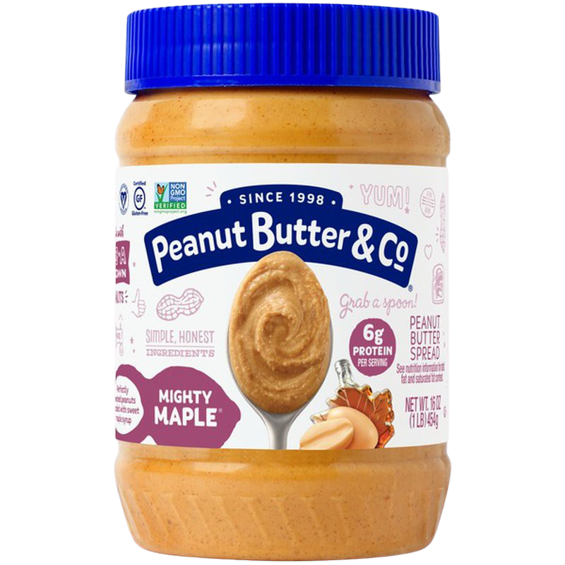 Peanut Butter Mighty Maple Spread 454g