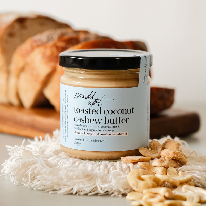 Mad Abt Toasted Coconut Cashew Butter 200g