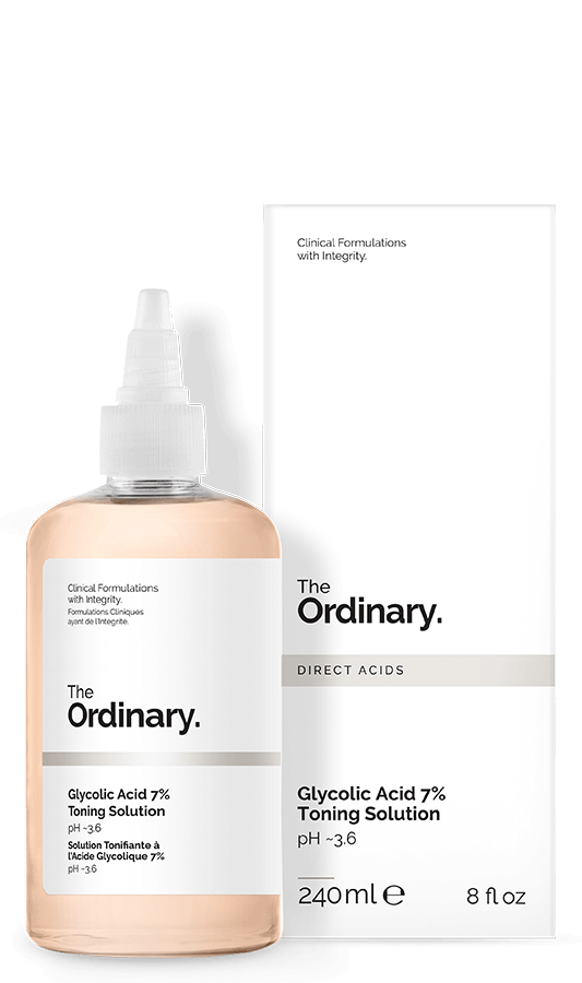 240 ml Glycolic Acid 7% Toning Solution