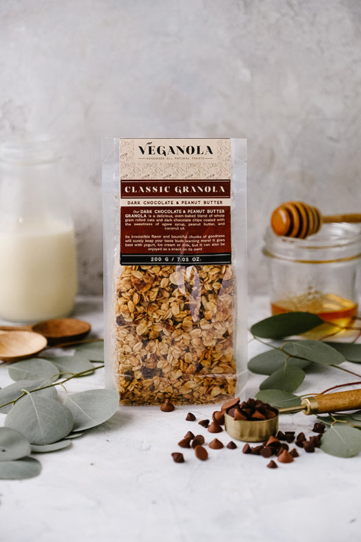 Granola Classic Dark Chocolate and Peanut Butter 200g