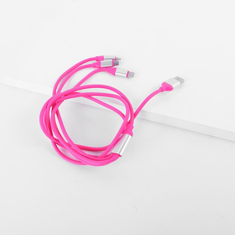 Cable USB Pink