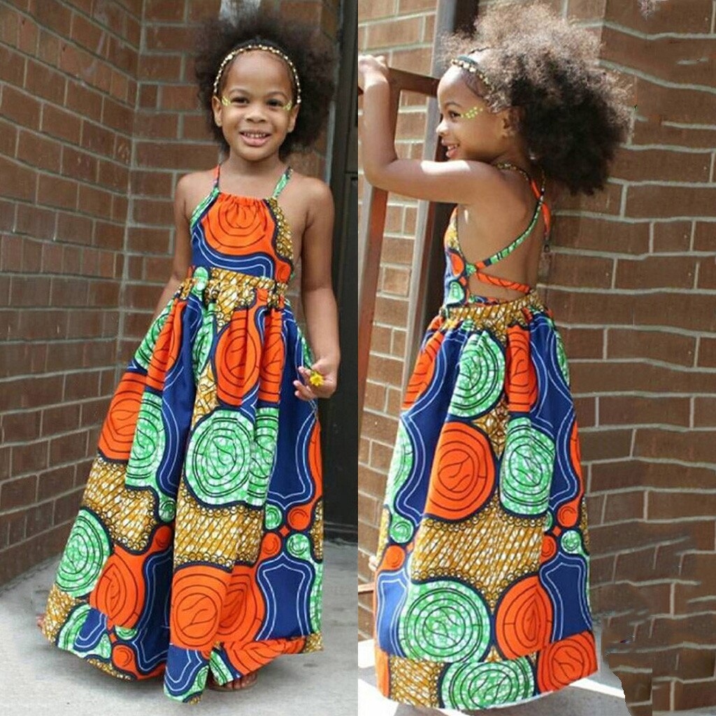 Kids Bohemian Dress Summer