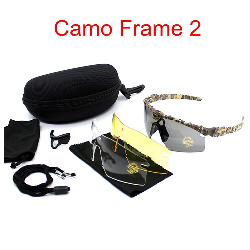UV400 Protection Military Sunglasses