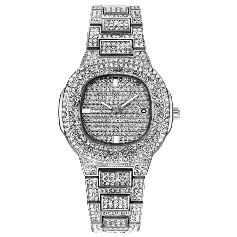 ICE-Out Bling Diamond Luxury Watch Men