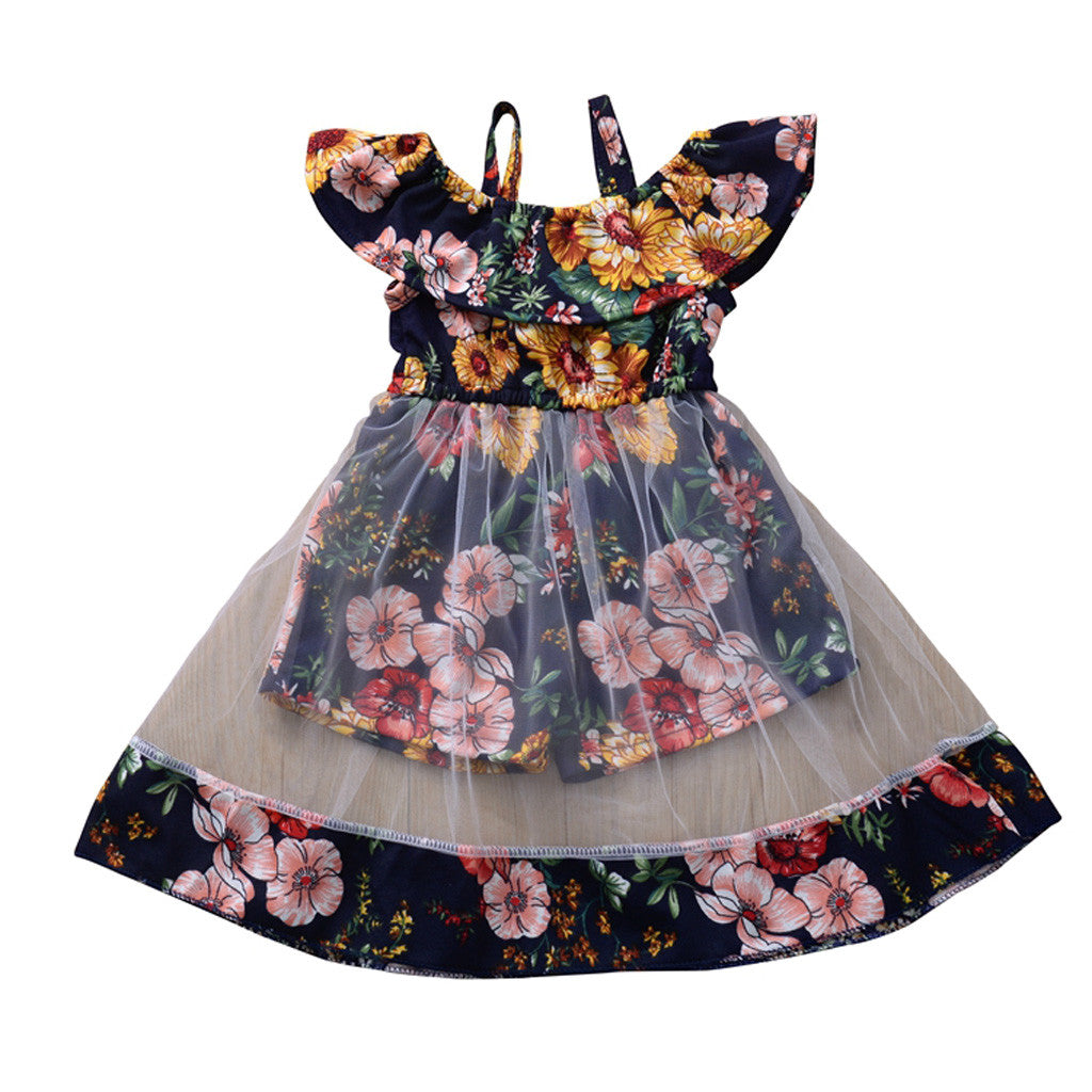 Fashion Kids Dresses for Girls Toddler