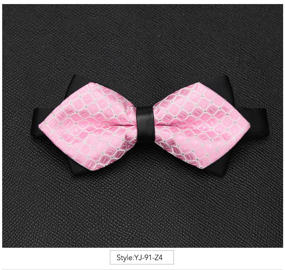 Mens Bowtie Fashionable Butterfly Knot
