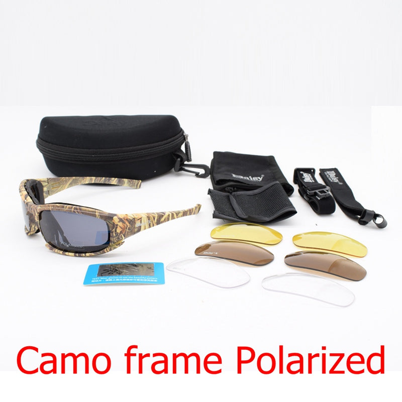 Military Sunglasses Airsoft Tactical Glasses UV400 Outdoor Sport/Hiking