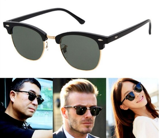 Driving Sunglass Classic Retro Round Shades