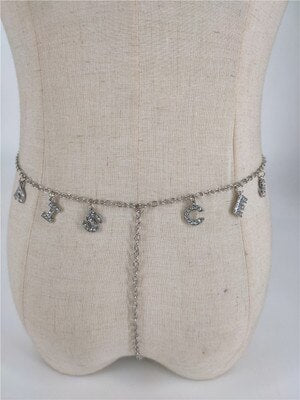 Thong Waist Chain Belt