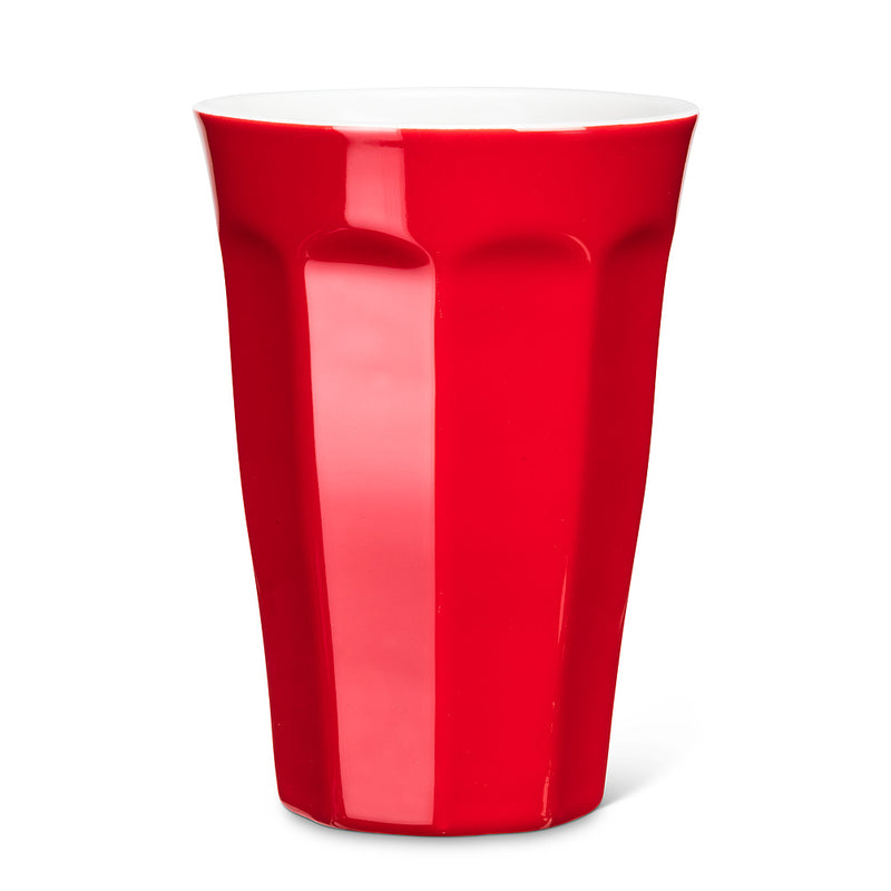 Panelled Tumbler- Red