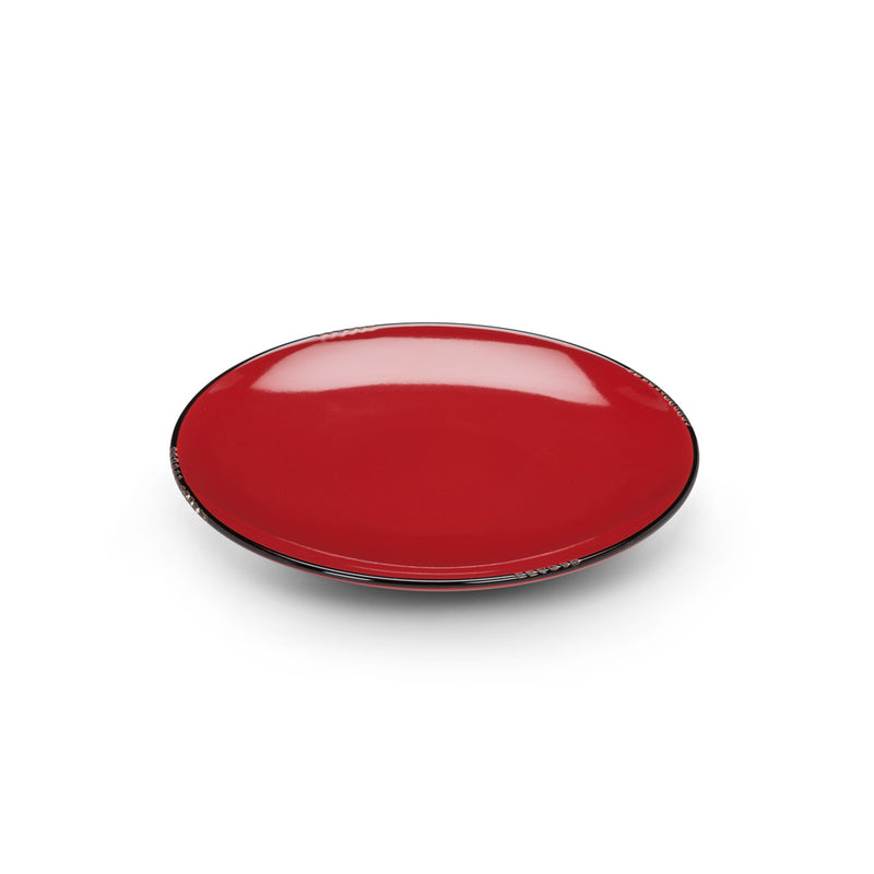 Enamel Red Plate