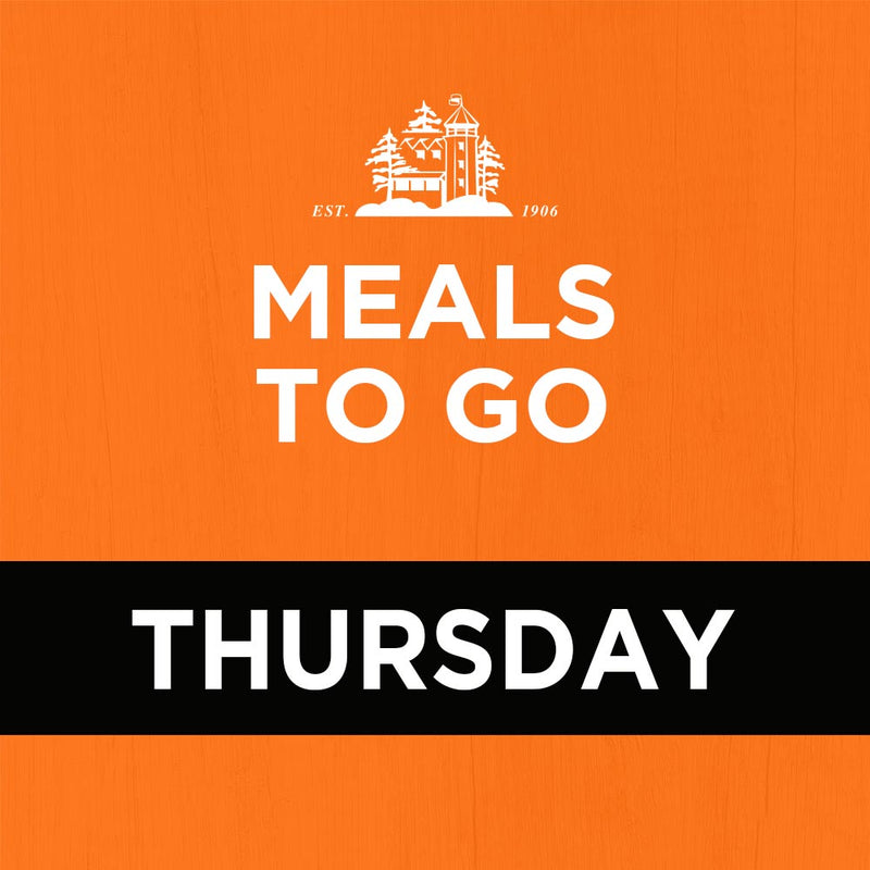 Meal Package (3 courses) – Thursday Nights Only