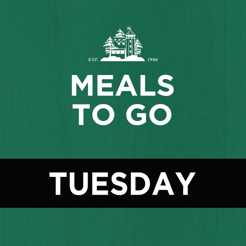 Meal Package (3 courses) – Tuesday Nights Only