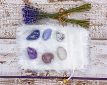 Load image into Gallery viewer, Anxiety Calming Crystal Set | Calming Crystals | Anxiety Crystals | Stress Crystals | Stress Relief | Anxiety Relief | Crystals for Anxiety
