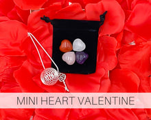 Load image into Gallery viewer, Mini Heart Valentine | Valentine Gift | Crystal Love Gift | Crystal Gift | Mini Puffy Heart Crystals | Be Mine | Love Gift