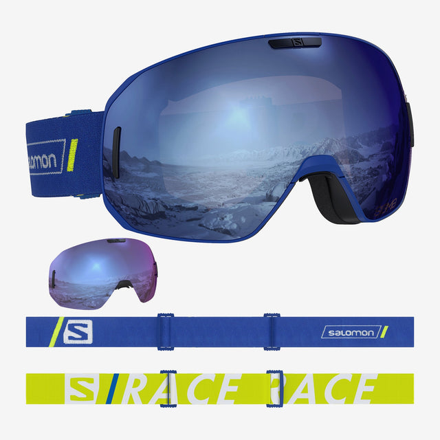 S/MAX Sigma Goggles Blue Race + 1 Xtra lense
