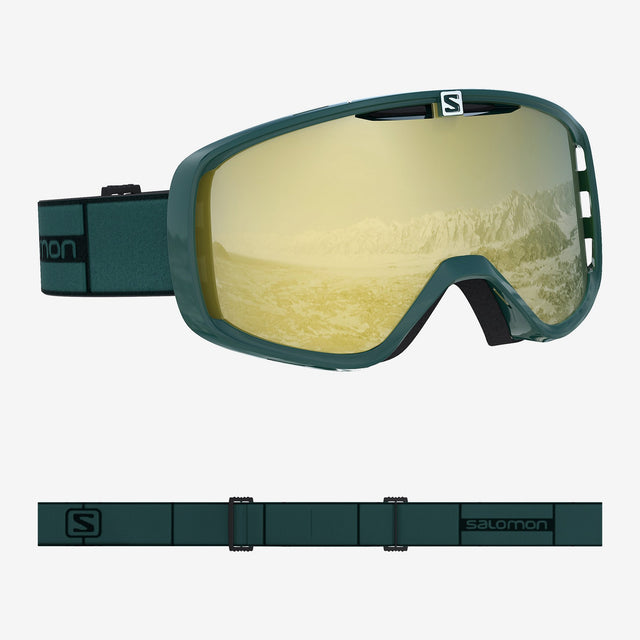 Aksium Goggles Green Gable